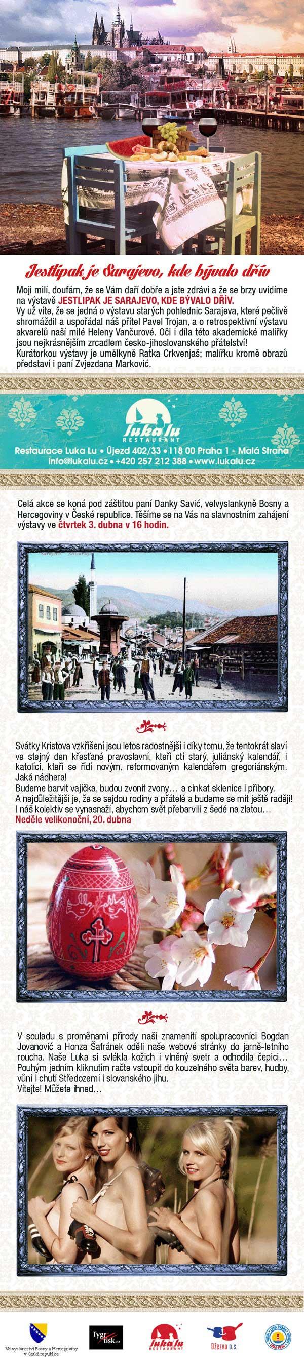 Vernisáž Sarajevo