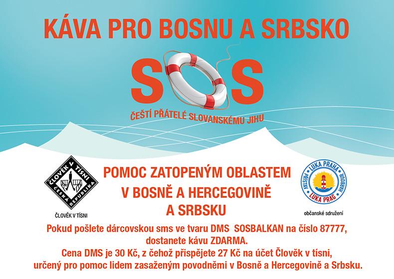 SOS KÁVA PRO BOSNU A SRBSKO