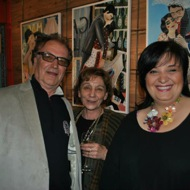 director Lordan Zafranović, painter Ana Petrović a former ambassadress of Serbia