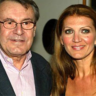Martina Forman and Miloš Forman