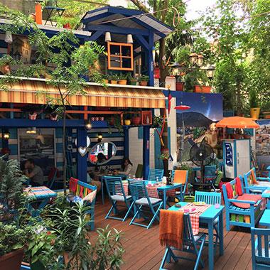 summer garden Petřín