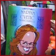MARINA CVETIĆ MASCIARELLI v malostranské restauraci Luka Lu - léto 2016